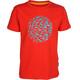 Elkline Butterbeidiefische t-shirt Kinderen rood
